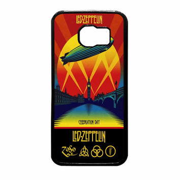 Led Zeppelin Poster Samsung Galaxy S6 Case