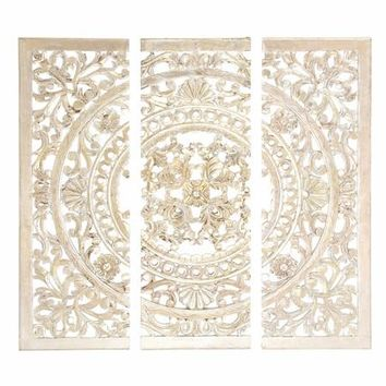 30939 Wood Wall Panel Set Of 3