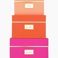 storage box set - kate spade new york