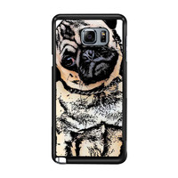 pugs alot dog 3f759c54-35a4-45fc-bc80-44191d7ed5c1 FOR Samsung Galaxy Note 5 CASE *02*