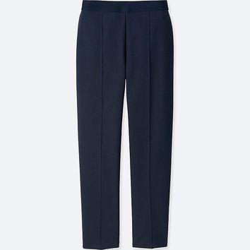 WOMEN PONTE SLIM PANTS