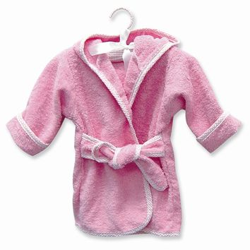 Pink or Blue Infant Terry Robe