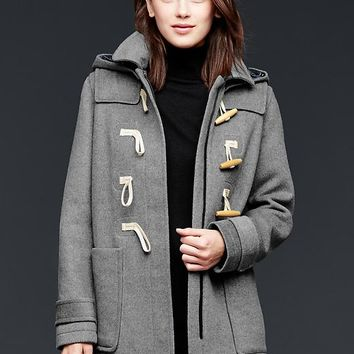 Gap Women Wool Toggle Coat