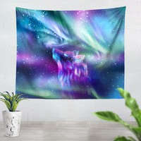 Wolf Aura Tapestry