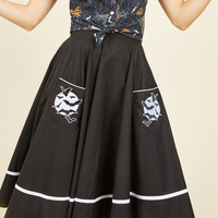 Fortune Favors the Cave Skirt | Mod Retro Vintage Skirts | ModCloth.com