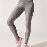 Nike Power Sculpt Training Tight Leggings in Black/htr/black
