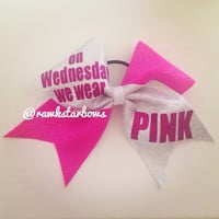 Mean Girls Cheer Bow