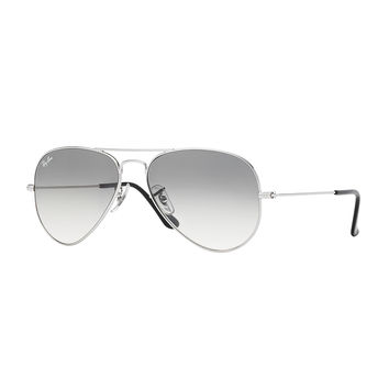 Original Aviator Sunglasses, Silver/Gray - Ray-Ban