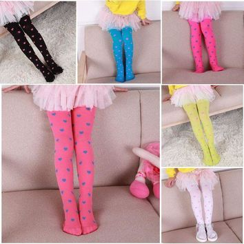 LMFMS9 Fashion Heart Printed Baby Legging