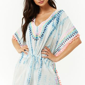 America & Beyond Kaftan Swim Cover-Up