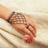 Classic Egyptian Queen Slave Bracelet Adjustable Ring [Kitchen]