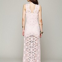 On The Eve Lace Column Dress