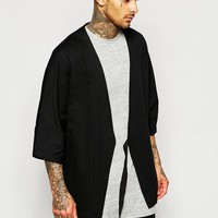 ASOS Kimono Caridgan With Belt at asos.com