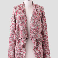 Changing Leaves Marled Cardigan