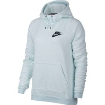 Nike Women's Sportswear Heatherized Rally Hoodie | DICK'S Sporting Goods