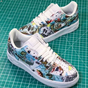 finest selection 6bb21 b9099 Nike Air Force 1 Af1 Low Wings Graffiti Av2405-100 Sport Shoes -