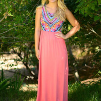 Long Summer Days Maxi Dress
