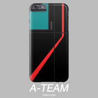Mr T / A-Team IPhone 4 5 6 Plus / Galaxy S5 S6 Phone Case