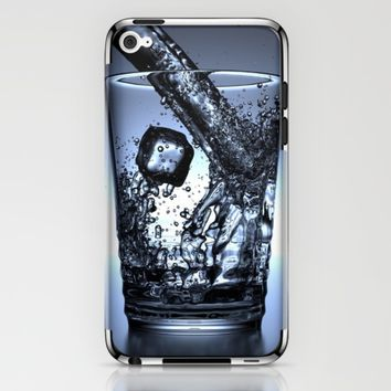 Glass of Water iPhone & iPod Skin by Mixed Imagery
