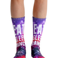 Eat Sleep Dance Crew Socks