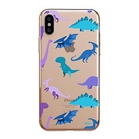 Dino Time - iPhone Clear Case