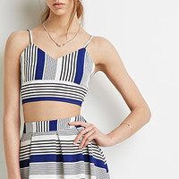 Striped Cami Bustier