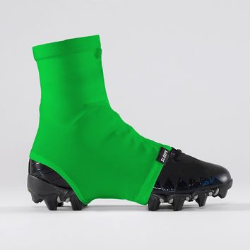 Hue Bright Green Spats / Cleat Covers