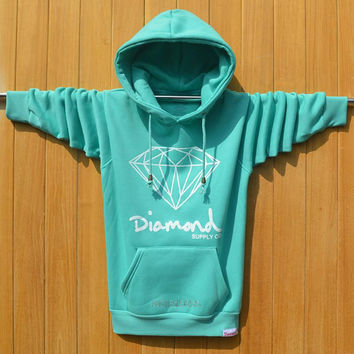 Brand Clothing Diamond Supply Co Men Hoodies 2016 autumn winter Men Sweatshirt Hooded high quality hip hop style streetwear