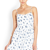Floral Free Fit & Flare Dress