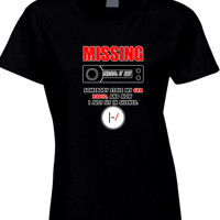 Twenty One Pilots Missing Tyler Car Radio Womens T Shirt