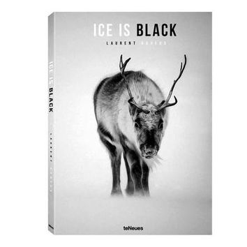 Ice Is Black Coffee Table Book