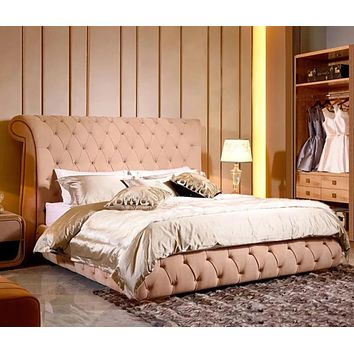 Luxury Tufting Design Soft Bed For Home  Furniture