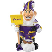 Minnesota Vikings Official NFL Caricature Gnome (PRE ORDER: SHIPS EARLY TO MID SEPTEMBER)