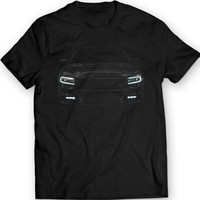 2016 Dodge Charger R/T T-shirt 100% Cotton Holiday Gift Birthday