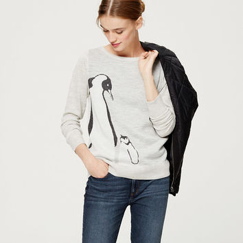 Penguin Sweater | LOFT