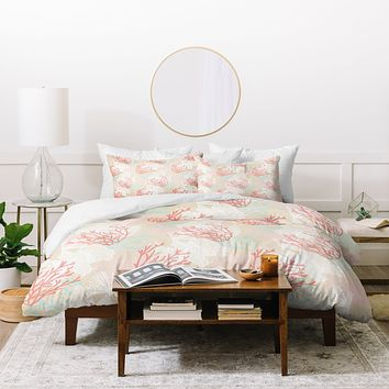 Aimee St Hill Tiger Fish Pink Duvet Cover