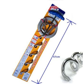 360 Rotation Pet Spiral Stake Tie Out Cable Heavy Duty with Protect Cover & Shock Spring Freedom Aerial Dog Run