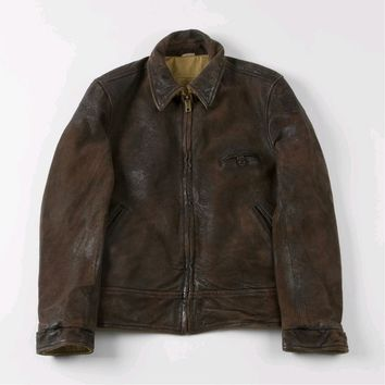 Levi's Vintage Clothing - Vintage Reversible Leather Jacket (Brown)