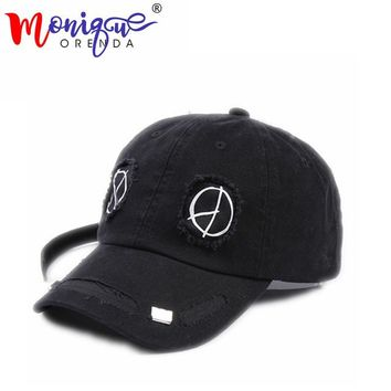 Sports Hat Cap trendy  The geometric branded baseball cap personality street Hip hop hat new style summer hat outdoor sports casquette dad snapkack hat KO_16_1