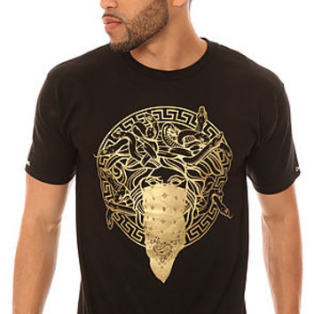 Crooks and Castles Tee in Black