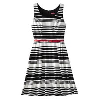 Merona® Petites Refined Dress - Black/White