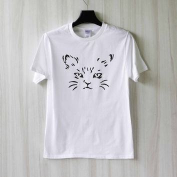 Cat Meow Kitten Shirt T Shirt Tee Top TShirt – Size XS S M L XL