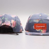 Perfect DIAMOND 5 Panel Hats snapbacks hats Women Men Embroidery Sports Sun Hat Baseball Cap Hat