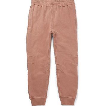 Yeezy x Adidas Originals - Loopback Stretch-Cotton Jersey Sweatpants | MR PORTER