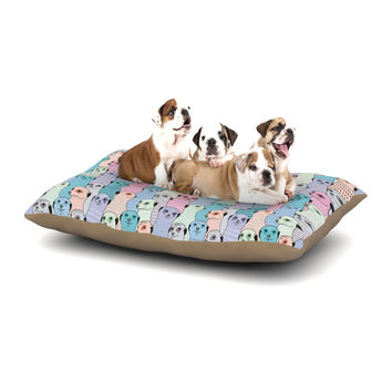 "Snap Studio ""Ferret Wheel"" Multicolor Dog Bed"