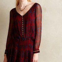 Mallory Mini Dress by Anthropologie Red Motif