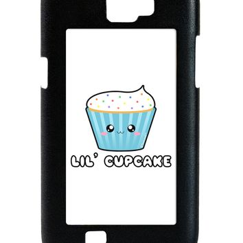 Cute Cupcake with Sprinkles - Lil Cupcake Galaxy Note 2 Case  by TooLoud