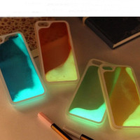 Noctilucent Water Iphone Cases for 6 6S Plus