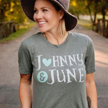Johnny & June-  Graphic Tee