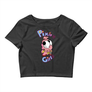pixie girl Crop Top